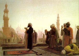 Musulmans en prière