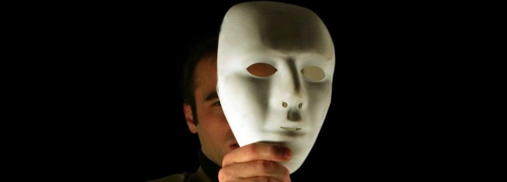Masque hypocrite