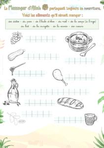 Exercice (primaire, islam) : Les aliments aimés par le Messager d'Allah ﷺ