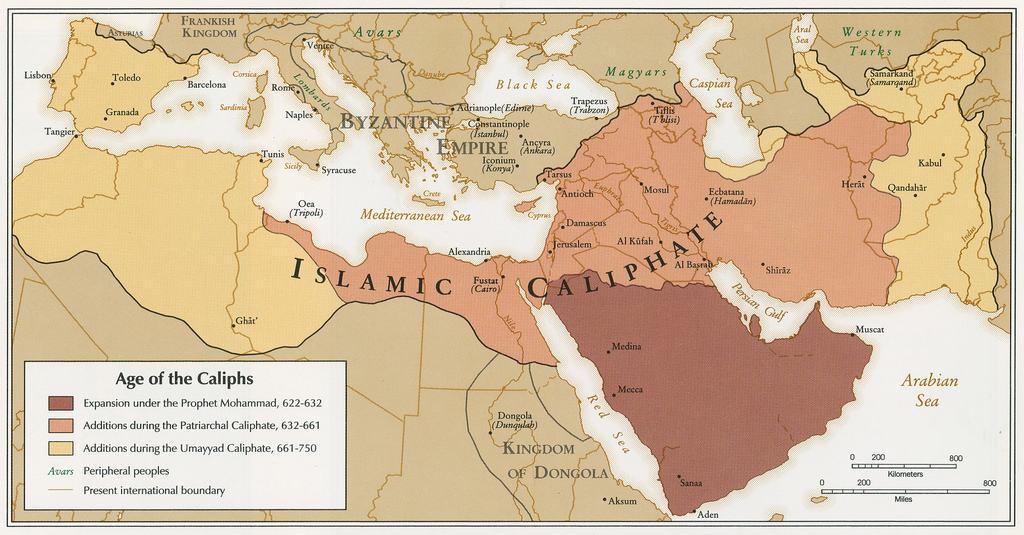 Annonce prémonitoire de l'expansion de l'islam