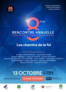 Intervention à la Rencontre Annuelle des Musulmans du Havre (RAMHA) – 2 octobre 2019