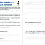 Exercice : Les deux enfants ou les deux caractères (texte à morale avec questions)